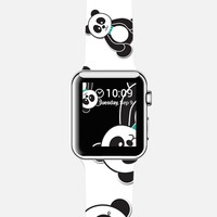Panda Freefall Apple Watch Apple Watch case by Tracey Coon | Casetify