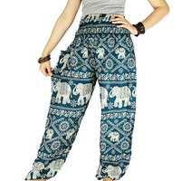 Harem pants Thai pants Hippie clothes Gypsy pants  Palazzo pants Hippie pants Elephant pants Elephant clothes