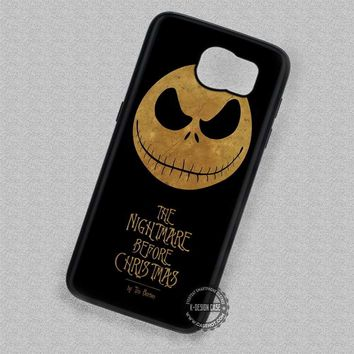 Jack's Head Geekery The Nightmare Before Christmas - Samsung Galaxy S7 S6 S5 Note 7 Cases & Covers