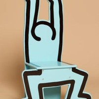 VILAC KEITH HARING CHAIR - BLUE - WOMEN - MEDIA - OPENING CEREMONY