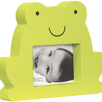 Green Frog Photo Frame - Cherishables