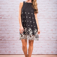 Live With Love Dress, Black