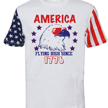 'Flying High Since 1776' Stars & Stripes Tee