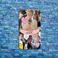 Super Cute Luke Hemmings 5 SOS Collage Phone Case iPhone 4 4s 5 5s 5c 6 Hot iPod