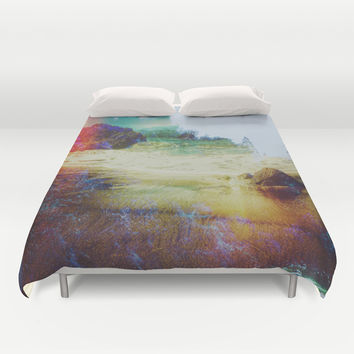 Both Worlds Duvet Cover by DuckyB (Brandi)