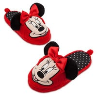 Disney Minnie Mouse Deluxe Slippers for Girls | Disney Store