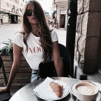 ♡ Fashion is my passion ♡ | basic, basics och white tshirt
