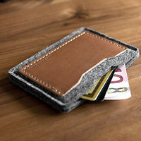 ITS Tactical Curated Shop   Alpha Card Wallet (Anthracite)
