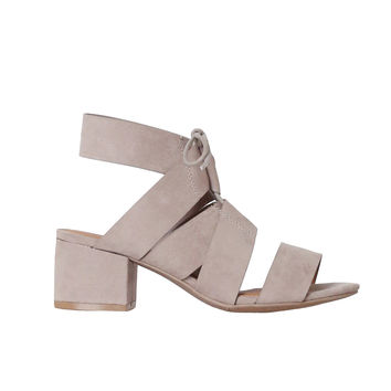 Angie Suede Sandals