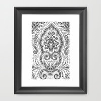 Boheme Framed Art Print by Lolita Stein