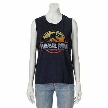Fifth Sun ''Jurassic Park'' Muscle Tee