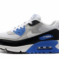 NIKE AIR MAX 90 Men's Sport max 90 Running shoes sneakers breathable mesh outdoor athletic shoe light male shoes