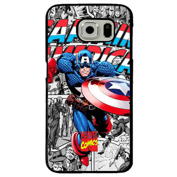 Captain America TPU+PC Case For Samsung Galaxy S8