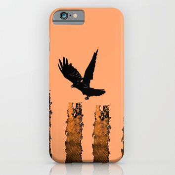 Crow Prey iPhone & iPod Case by ES Creative Designs
