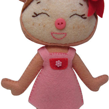 Made to Order Kawaii Piggy Plush in Dress/Shorts