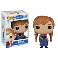 Funko POP! Disney Frozen - Vinyl Figure - ANNA (Pre-Order ships August): BBToyStore.com - Toys, Plush, Trading Cards, Action Figures & Games online retail store shop sale