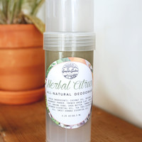 Herbal Citrus - All Natural Aluminum Free Deodorant