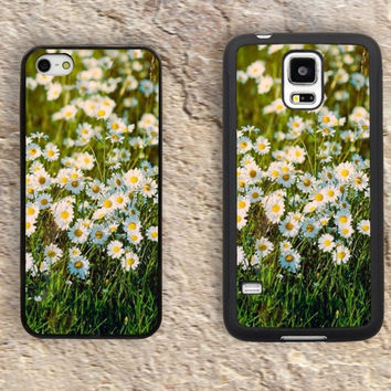 Little Daisy iPhone Case-floral Pattern iPhone 5/5S Case,iPhone 4/4S Case,iPhone 5c Cases,Iphone 6 case,iPhone 6 plus cases,Samsung Galaxy S3/S4/S5-223
