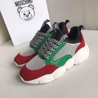 Moschino Teddy Run Sneakers
