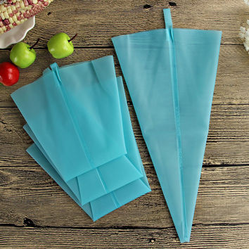 31cm Length Silicone Kitchen Accessories Icing Piping Cream Pastry Bag Cake Decorating Tool 1pcs