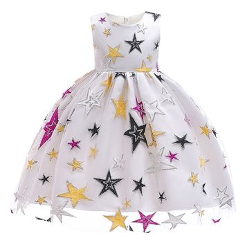 Princess  sequin and embroidery star 0711668488603
