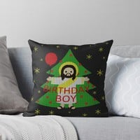 'Jesus - Christmas' Throw Pillow by ValentinaHramov