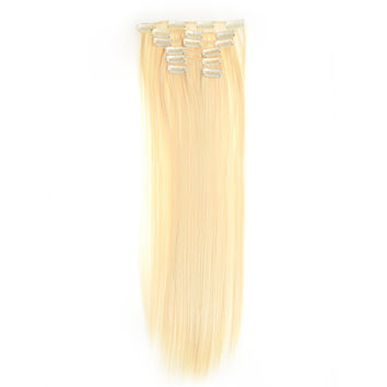 Hair Extension 7pcs Suit Wig 120g    613#