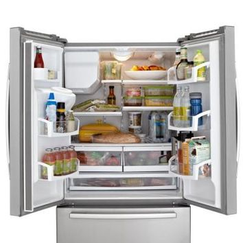 Whirlpool, Gold 25.6 cu. ft. French Door Refrigerator in Monochromatic Stainless Steel, GI6FARXXY at The Home Depot - Tablet