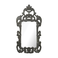 Rocco Mirror In Black Ash Black Ash