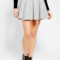 I.Madeline Jeweled Quilted Circle Skirt - Urban Outfitters