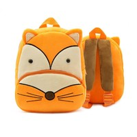 Cute Animal pig Backpack Kids School Bags For Kinderga Girls Boys Cartoon Children Backpacks kindergarten bear Baby Bag Aged 2-4