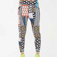 Without Walls Patchwork Party Harem Pant - Urban Outfitters