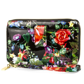 Keep It Together Floral Wristlet