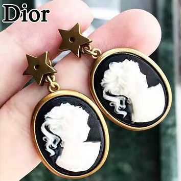Dior Fashion Women Personality Pendant Earrings Accessories Jewelry