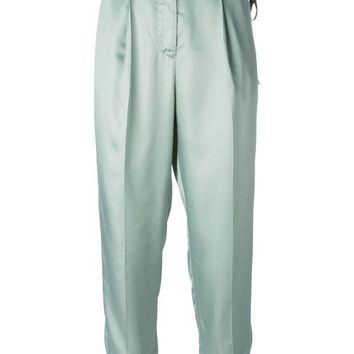 ICIKIN3 MM6 By Maison Martin Margiela high waisted trousers