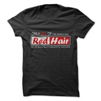 Only 2% Have Red Hair T-Shirt