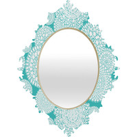 Heather Dutton Delightful Doilies Tiffany Baroque Mirror