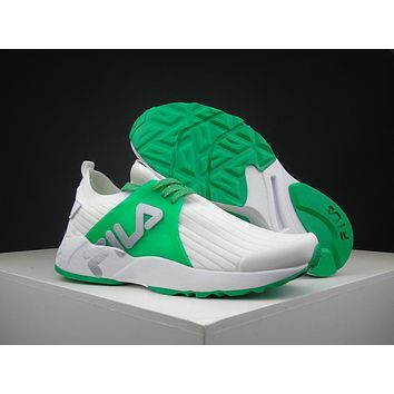 Fila 1751 White/green Running Shoes Size 36 44.5 | Best Deal Online
