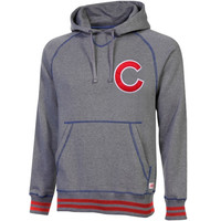 Chicago Cubs Stitches Brush Pullover Hoodie – Gray