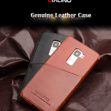 Huawei Mates case Handmade Best Quality Genuine Leather Phone Case For Huawei Mates inserted style in back cover