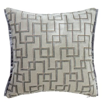 Designers Guild Jeanneret Platinum Decorative Pillow