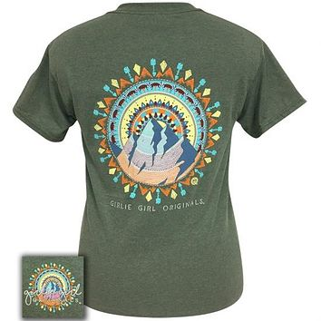 Girlie Girl Originals Preppy Mountain Mandala T-Shirt