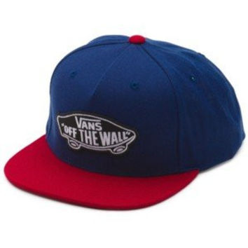 Vans Men's Classic Patch Trucker Hat (Dress Blues/Rhu)