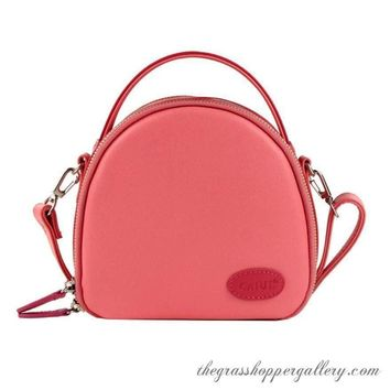 Adorable Pink Leather Insta Camera Bag Or Shoulder Bag