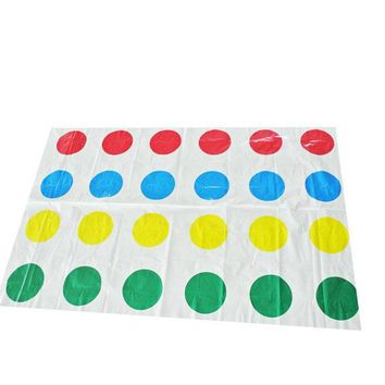 Family Friends party Board game 2017 Fun Outdoor Sports Toys Twister Moves Game Play Mat Twisting body That Ties You Up In Knots s toys Gift for kids AT_41_3