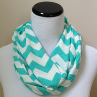 Tiffany Blue Infinity Scarf