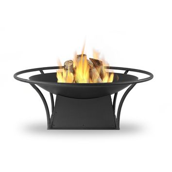 Parker Steel Wood Burning Fire Pit