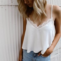 Lace Layer Tank Top