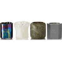 Tom Dixon - Materialism set of four candles, 4 x120g