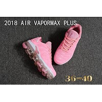 Nike Air Vapormax Plus Tn Ultra White Pink VM Running Shoes